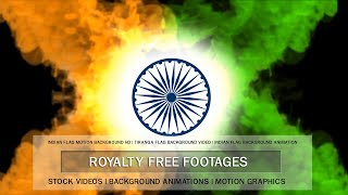 Indian flag video background intro, Indian Flag animation template, Independence Day 15 August 2021
