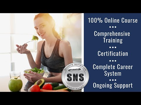 How to Become a Certified Sports Nutrition Specialist - YouTube