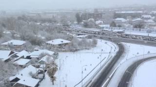 2ноября зимняя сказка в Алма-Аты