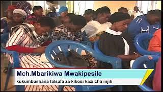 Zijue falsafa za Kikosi Kazi - Baba Mbarikiwa Mwakipesile (live on Facebook J.TANO)