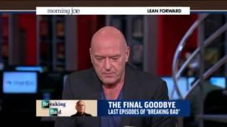 Dean Norris Morning Joe Interview   Dean Norris Breaking Bad MSNBC