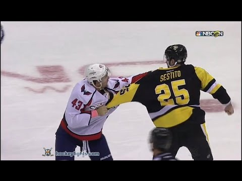 Tom Wilson vs Tom Sestito