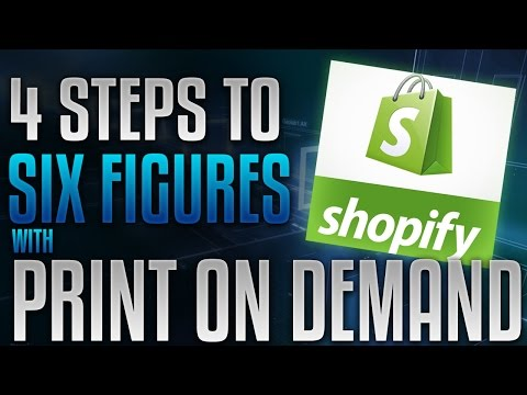Free Training: 4 Step System To Master T-Shirt Print On Demand ...