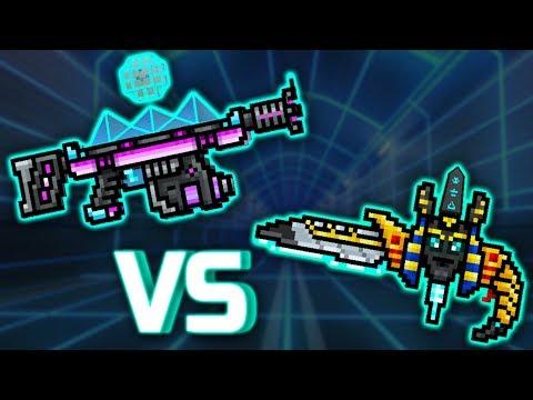 Pixel Gun 3D : WAVE PULSER [VS] ANUBIS