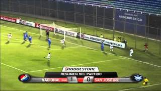 preview picture of video 'Nacional de Asunción 1 - 0 San José Copa Sudamericana 2011'
