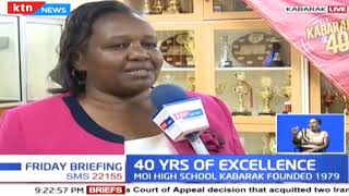 Kabarak celebrates 40 years of excellence