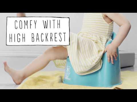 Babybjorn горшок-кресло белый