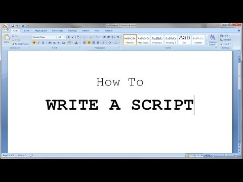 how to write a script How to format your script technology sam graber originally published december 8, 2014 on samgrabercom reprinted with permission this basic template created in.