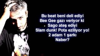 Sagopa Kajmer & Bee Gee - Naber (Lyric Video) - (Sözleri)