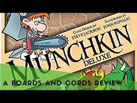 How to Play Munchkin Card Game [B&C Review 010]