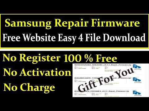 how to download samsung 4 file repair firmware - смотреть