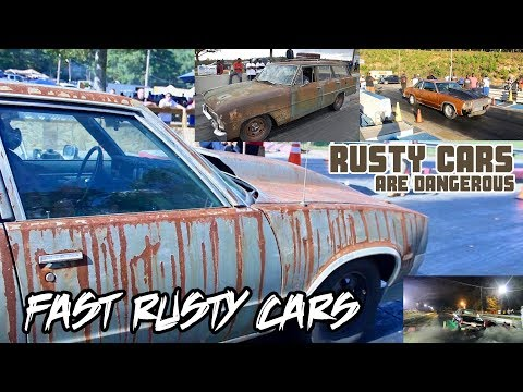 "RUSTY ""SLEEPER"" CARS!! THE FASTEST RUSTY CARS YOU'LL SEE!!"