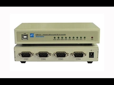 UsbSB To 4-Port RS-232 Hub