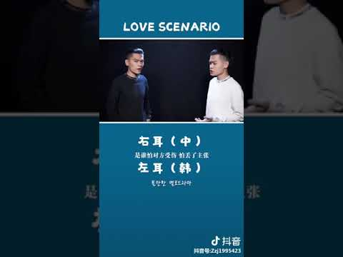 """[抖音tiktok]""""當天氣秋涼 當樹葉泛黃""""《LOVE  SCENARIO》中韓語雙聲道 開啟你我的2019"""