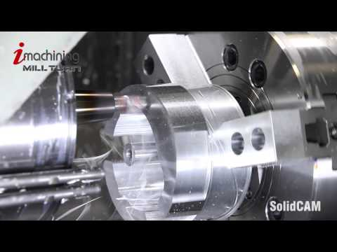 SolidCAM iMachining & Dreh-Fräsen in Alu