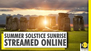 Longest day of the year or 'Summer solstice' at Stonehenge livestream watched by millions