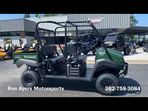 2020 Kawasaki Mule 4010 Trans4x4 in Greenville, North Carolina - Video 1