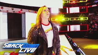 Relive Ronda Rousey's shocking arrival at Royal Rumble: SmackDown LIVE, Jan. 30, 2018 - Video Youtube