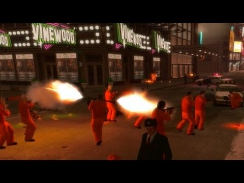 GTA 4 - Prison Brake 2 - Downtown Riots and Subway Mayhem