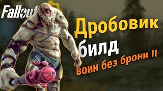 Fallout 76:  Билд дробовик - воин без брони 2