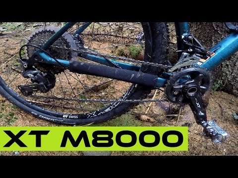 Worth It's Price? Shimano XT M8000 Groupset Test / Review.