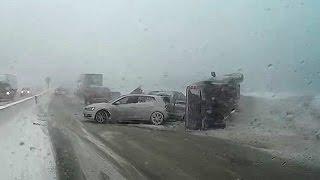 Eisenhower/Johnson Tunnel Multi-Car Pile-Up / Crash