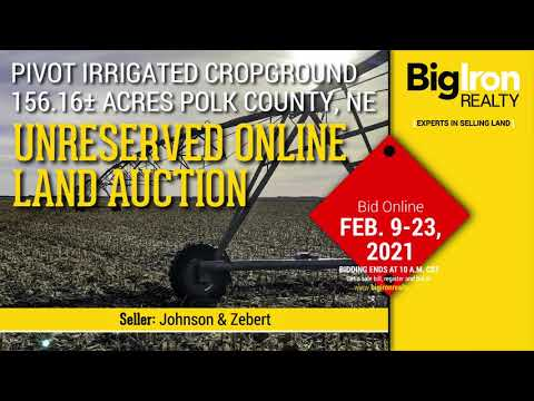 Land Auction 156.16+/- Acres Polk County, NE