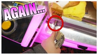 FOUND ANOTHER UNLOCKED CLAW MACHINE! || Arcade Games