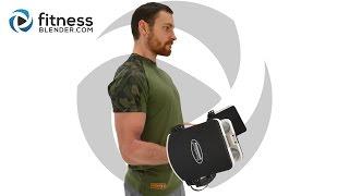 上身分裂鍛煉 - 背部和二頭肌大眾鍛煉視頻 出處 FitnessBlender