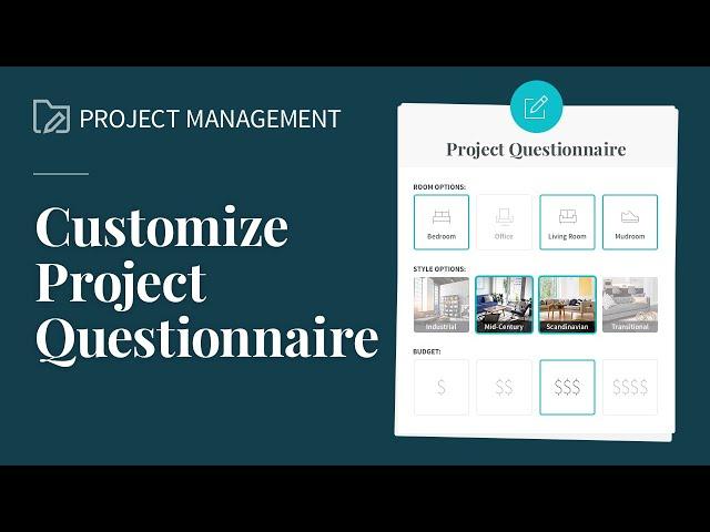 Customize Your Questionnaire