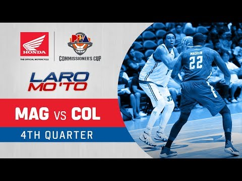 [Sport5]  Magnolia vs. Columbian Dyip – Q4   PBA Commissioner's Cup 2018
