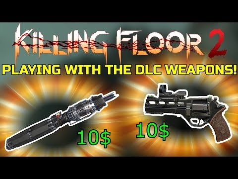 Killing Floor 2 | ARE THE 2 NEW DLC WEAPONS WORTH A PURCHASE? - Rhino & Ion Thruster!