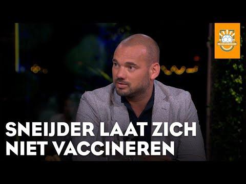 Sneijder laat zich niet vaccineren: 'Waarom wel?'