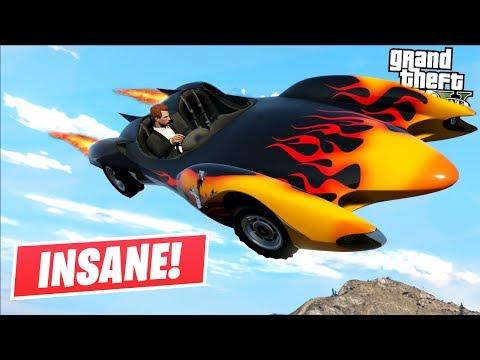 WATCH THIS CAR DO A FLYING LOOP! (GTA 5 Online)