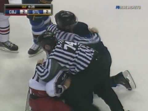 David Backes vs. Fedor Tyutin