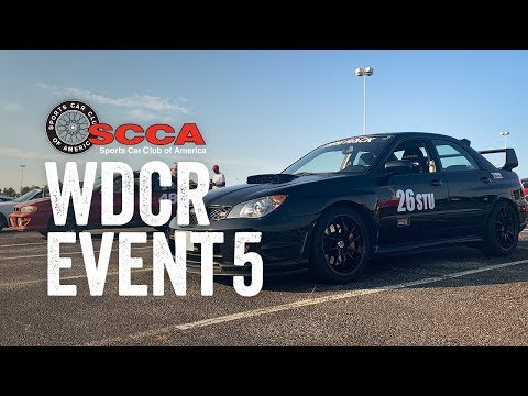 SCCA WDCR Event 5 - Autocross (STU): FedEx Field Stadium (8/18/19)