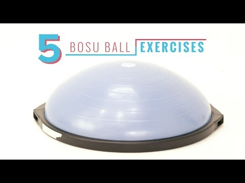 Equip Yourself: 5 Bosu Ball Exercises