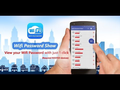 WiFi Password Show - How to view WiFi Password on Android phone?