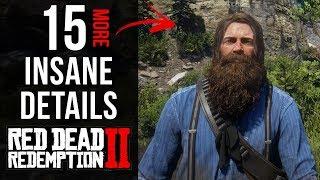 15 INSANE Details in Red Dead Redemption 2 (Part 5)