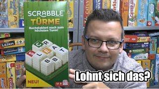 Scrabble Türme (Mattel Games) - Neuheit 2018 ab 10 Jahre