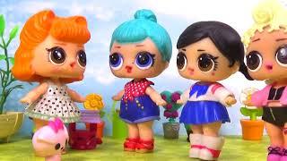 Куклы ЛОЛ НА ДНЕ РОЖДЕНИЯ ПОДРУГИ ЛЕДИ РЕТРО Праздник с Шопкинсами #Игрушки #Сюрпризы Shopkins LOL
