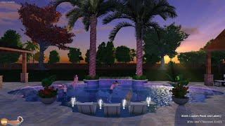 Scully Residence Luxury Pool Project - League City, TX Smith Custom Pools And Lakes