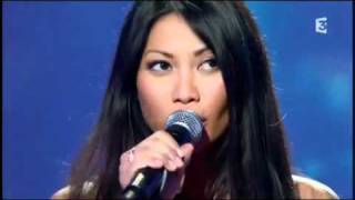 ANGGUN ~ indonesian singer singing france