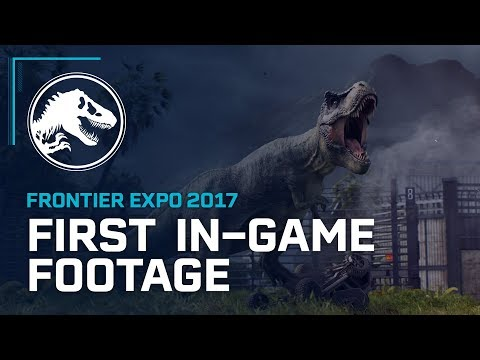 First In-Game Footage - Jurassic World Evolution