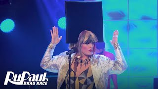 RuPaul's Drag Race (Season 8 Ep. 4) | 'Dragometry' New Wave Performance | Logo