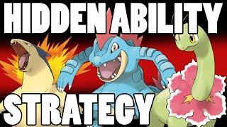 Typhlosion  - (Pokémon) - Johto Starter Strategy Update - Flash Fire Typhlosion - Sheer Force Feraligatr - Leaf Guard Meganium