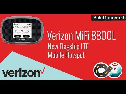 Verizon's New MiFi 8800L - New Flagship Category 18 LTE Mobile Hotspot Device