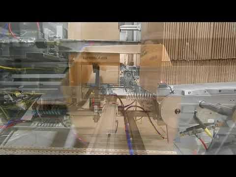 Formadora de cajas de alta velocidad con hot melt 2-EZ HS HM a una velocidad de 15 CPM