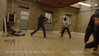 Strontium Dog: Search/Destroy fight rehearsal Wulf