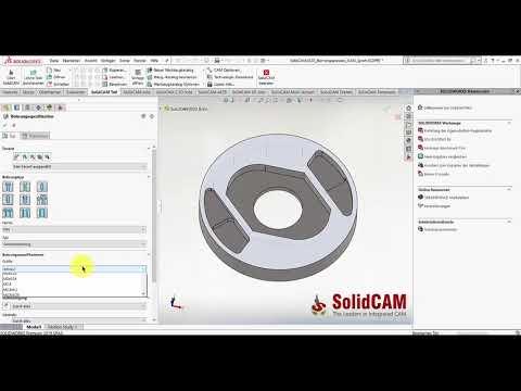 SolidCAM 2020 – Vollständige Synchronisation im Bohrungsassistent CAM